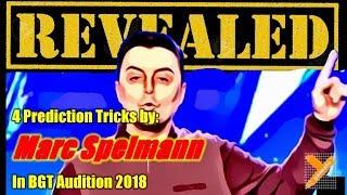 Video Revealed: Marc Spelmann (Prediction Tricks) in BGT Audition 2018 MP3, 3GP, MP4, WEBM, AVI, FLV Juli 2018