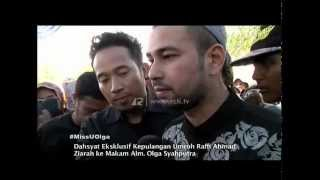 Video EKSKLUSIF Kepulangan Raffi Umroh dan Ziarah Ke Makam Olga Syahputra - dahSyat 01 April 2015 MP3, 3GP, MP4, WEBM, AVI, FLV Januari 2019