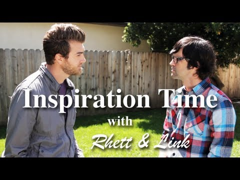 Inspiration Time with Rhett and Link | L Studio Presents
