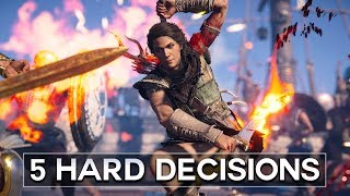 5 Hard Decisions - Assassin's Creed Odyssey