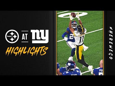 2020 Pittsburgh Steelers Game Highlights: Week 1 vs New York Giants