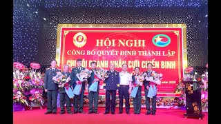 Công bố Quyết định thành lập Chi hội Doanh nhân Cựu chiến binh TP Uông Bí