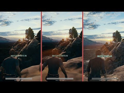 PUBG Early Access Visual Comparison (Xbox One, Xbox One X, PC)