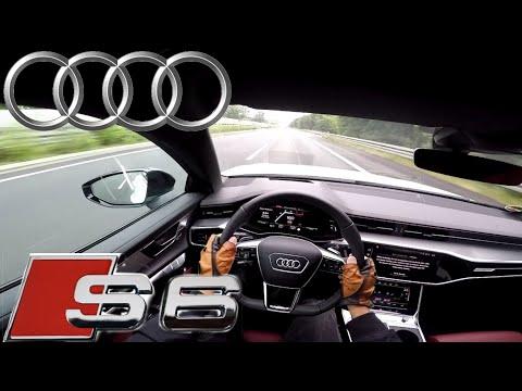 2019 Audi S6 Avant TDI (349 PS) POV Testdrive AUTOBAHN Beschleunigung & Speed