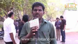 Vijaya Kumar at Marma Mudichu Movie Shooting Spot