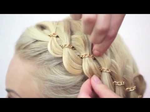 Zincirli saç örgüsü