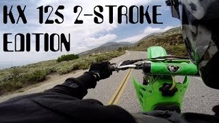 7. KX125 2-Stroke   Grilling My Ass cheek Story   And WR250F Dual Cam Action