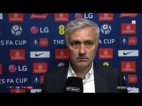 Mourinho: We deserved to win FA Cup final | Manchester United manager not happy (видео)