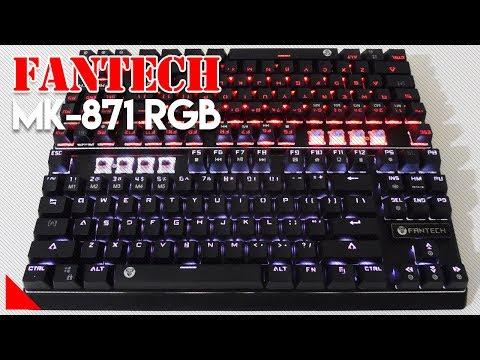 Keyboard Mecha Murah dengan Fitur Paling Lengkap! - Fantech MK 871 RGB UPGRADED