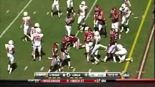 Keenan Robinson vs Oklahoma 2010