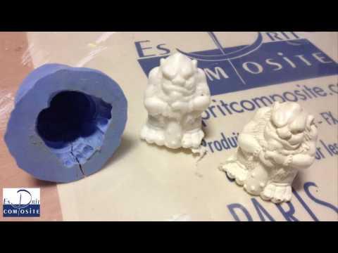 Comment faire ? Moulage d'une figurine en silicone - Tirage en résine polyuréthane
