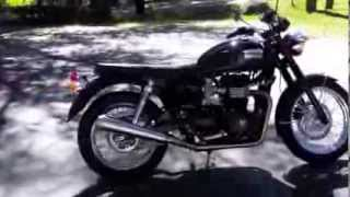 7. Pre-Owned 2010 Triumph Bonneville T-100 Black at Euro Cycles of Tampa Bay