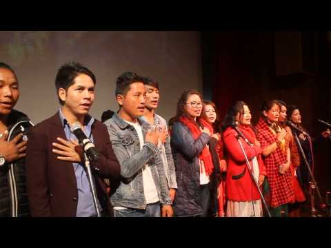 (Nepal National Anthem - Sayaun Thunga Fulka Hami - Duration: 68 seconds.)