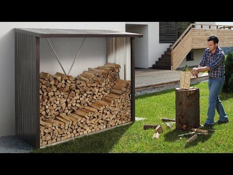 Kaminholzregal WoodStock von Biohort