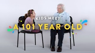 Video Kids Meet a 101 Year Old | Kids Meet | HiHo Kids MP3, 3GP, MP4, WEBM, AVI, FLV Maret 2018