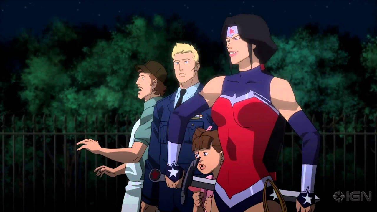 maxresdefault Justice League: War behandelt die ersten paar Ausgaben der Comciserie als Animationsfilm