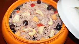 Fruit pulao / pulav - Thamil virundhu recipe