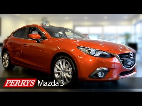 All New Mazda 3 (2014) with Skyactiv Technology