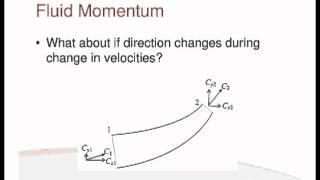 Fluids Lecture 5 - Fluid Momentum (S2)