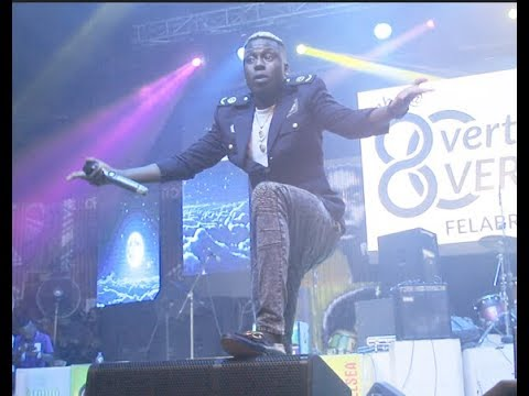See Junior Boy, Solid star, Dice Ailes stunning performance at Felabration 2018