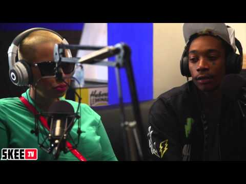 Wiz Khalifa & Amber Rose Talk Her O.N.I.F.C Track & What They Are Looking Up To As Parents Pt. 3