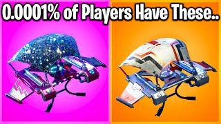 TOP 10 RAREST GLIDERS IN FORTNITE! (try to guess #1)