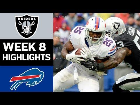 Raiders vs. Bills | NFL Week 8 Game Highlights - Thời lượng: 8:46.