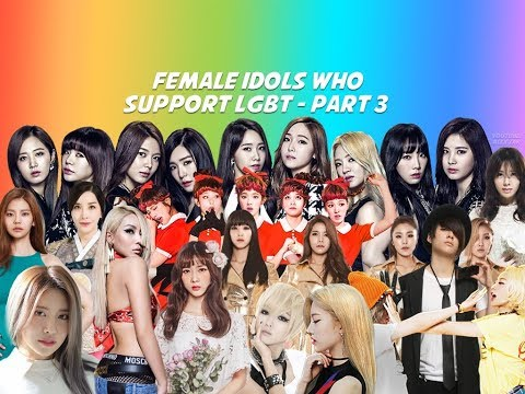 FEMALE IDOLS WHO SUPPORT LGBT PART 3 - RED VELVET, MAMAMOO, LOONA, ETC.