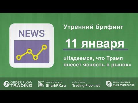 Утренний брифинг. 11 января. (видео)