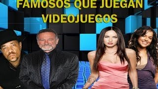 """Te preguntastes alguna vez, si esas personas a quienes llamamos famosos, les gusta jugar videojuegos? bueno este video te respondera esa pregunta Music for this video:Song: Killing TimeAuthor: Kevin MacLeodLink:incompetech.com/music/royalty-free/mp3-royaltyfree/Killing%20Time.mp3License: Creative CommonsSong: RocketAuthor: Kevin MacLeodLink:incompetech.com/music/royalty-free/mp3-royaltyfree/Rocket.mp3License: Creative Commons-------------------------------------------------------------------------------------------------------------------------------Copyright Disclaimer Under Section 107 of the Copyright Act 1976, allowance is made for """"fair use"""" for purposes such as criticism, comment, news reporting, teaching, scholarship, and research. Fair use is a use permitted by copyright statute that might otherwise be infringing. Non-profit, educational or personal use tips the balance in favor of fair use."""