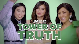 Video The Cast Of 'Crazy Rich Asians' Play The Tower Of Truth And Spill All Their Secrets MP3, 3GP, MP4, WEBM, AVI, FLV Oktober 2018