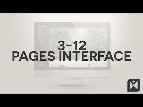 Pages Interface  in WordPress