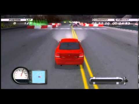 dodge racing charger vs challenger wii youtube