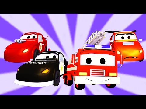 Video La Super Patrulla con el Coche de Carreras y el Coche Malo en Auto City   Dibujo Animado para niños download in MP3, 3GP, MP4, WEBM, AVI, FLV January 2017