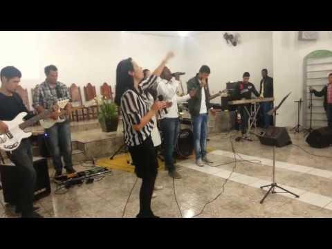 Noite de louvor na ig assembléia de Deus min Santos em Pitangueiras sp