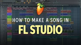 How to Make a Song in FL Studio 20 ???? | Software Lesson
