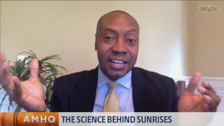 These gorgeous pink and purple sunrises are all thanks to our atmosphere and our eyes. Dr. Marshall Shepherd explains the optical science behind sunrises.