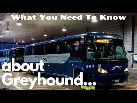 Greyhound Bus Travel Tips - What You Need to Know Before Your Trip