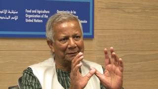 FAO-Nobel Laureates Alliance - Muhammad Yunus