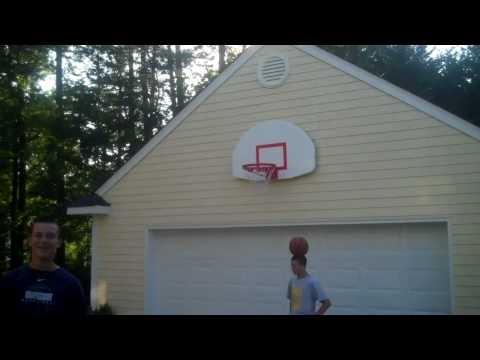 Bloopers of Amazing Basketball Trick Shots