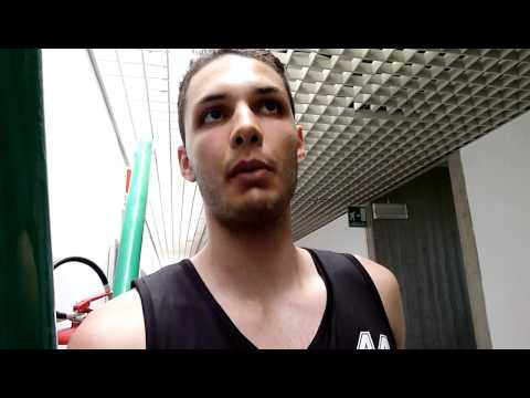 Evan Fournier at the adidas EuroCamp in Treviso