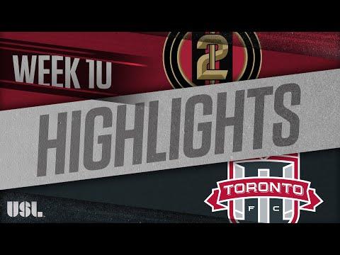 Atlanta United 2 - Торонто 2 5:4. Видеообзор матча 17.05.2018. Видео голов и опасных моментов игры