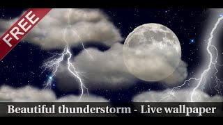 The real thunderstorm - LWP YouTube video