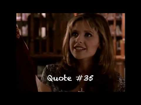 Buffy Summers - BTVS Season 1 Best/Funny Quotes (Ep. 1-6)
