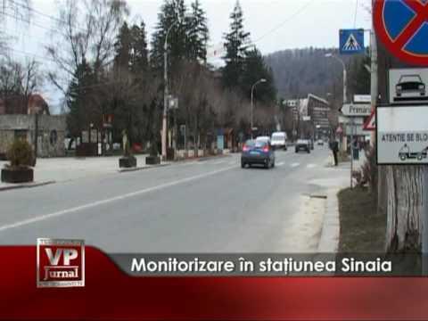Monitorizare în staţiunea Sinaia