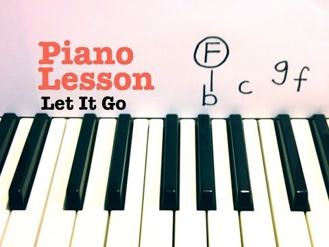 Let It Go ★ Piano Lesson ★ SUPER EASY ★ Frozen (Movie)