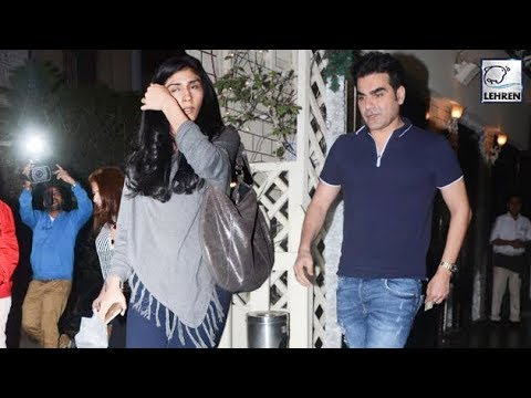 Arbaaz Khan CAUGHT With Girlfriend Post Divorce Wi