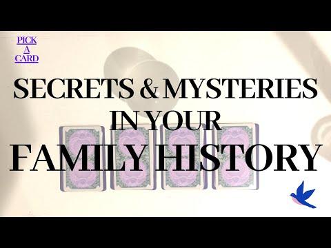 Tarot geheimen en mysteries uit je familie