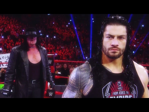 Video Road to WrestleMania 33: The Undertaker vs. Roman Reigns download in MP3, 3GP, MP4, WEBM, AVI, FLV January 2017