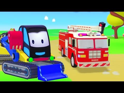 Lern mit Feuerwehrautos. Cartoons für Kleinkinder. (видео)
